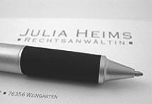 Stift und Adresse