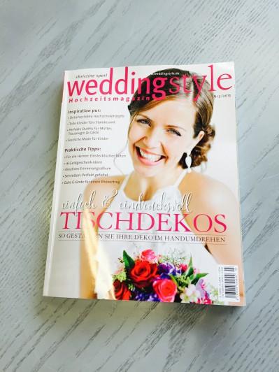 Die neue Weddingstyle - ab 02. Juni im Handel