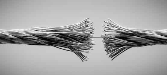 reißendes Seil